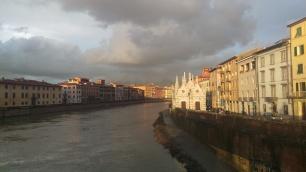 Pisa dopo il temporale